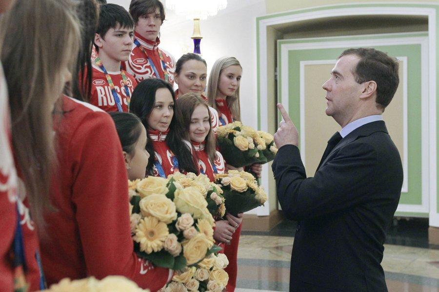 Le président russe Dimitri Medvedev.... (Photo: Reuters)