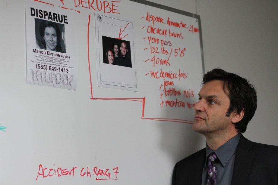 L'enquêteur Desrosiers (Benoît Gouin) dans la série Apparences.... (Photo fournie par Radio-Canada)