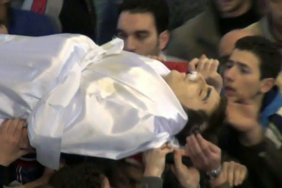 L'étudiant de 24 ans, de son vrai nom... (Photo: AFP (capture d'écran prise depuis YouTube))