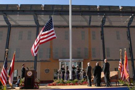 L'ambassade américaine en Irak a été inaugurée en... (Photo: AFP)
