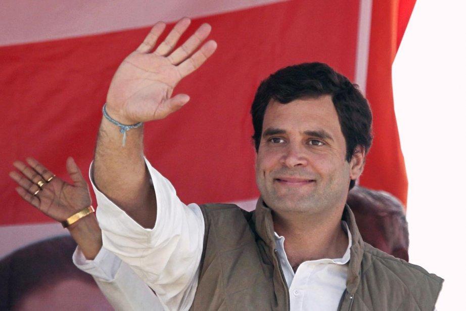 Rahul Gandhi, 41 ans, ne se présente pas... (Photo: Adnan Abidi, Reuters)