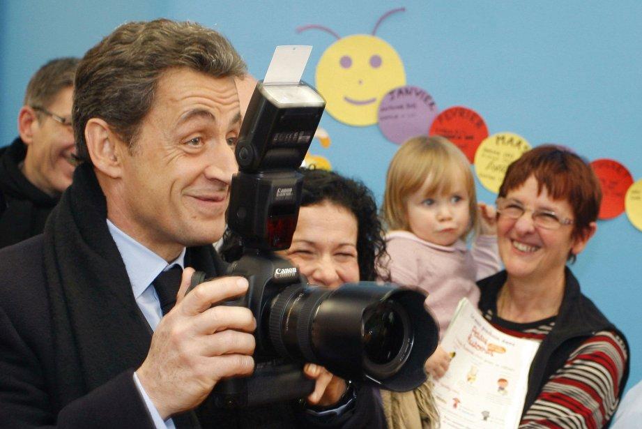 Nicolas Sarkozy... (Photo Reuters)