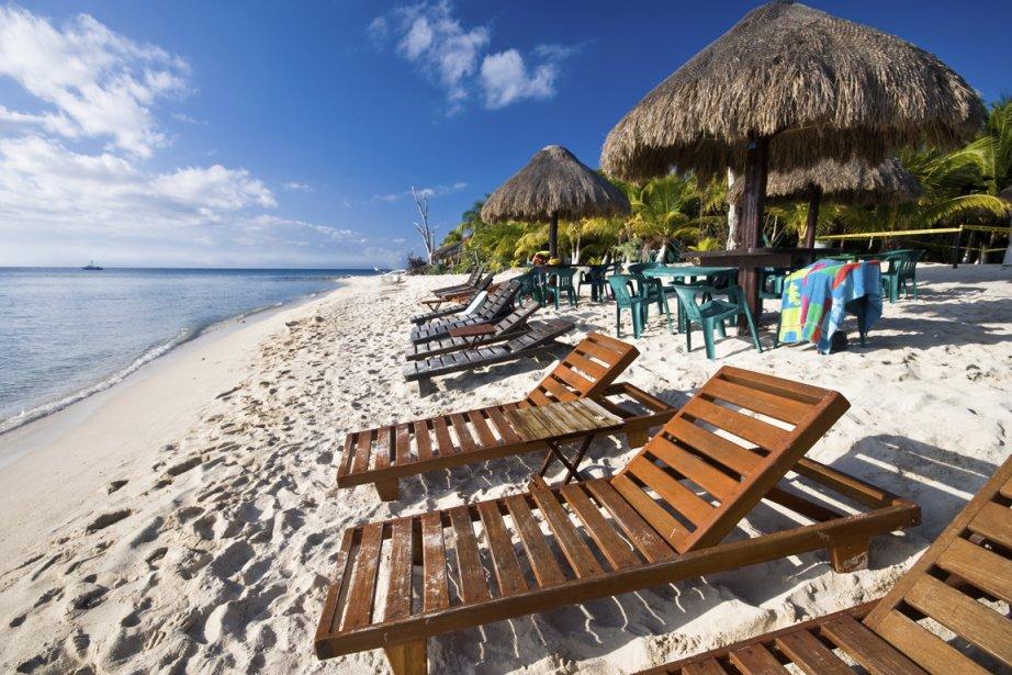 Une plage de la Riviera Maya... (Photos.com)