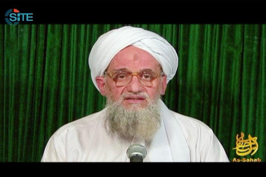 Le chef d'Al-Qaïda Ayman al-Zawahiri,un Égyptien qui a... (Photo: AFP)