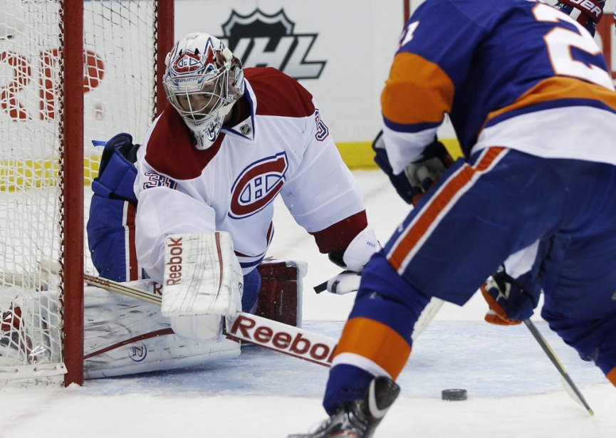 Carey Price est solide devant le filet du Canadien. | 9 février 2012