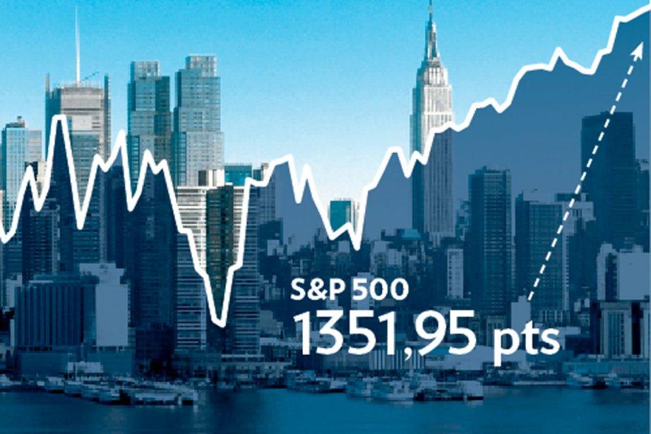 Depuis la fin d'octobre, la Bourse canadienne connait... (Infographie La Presse)