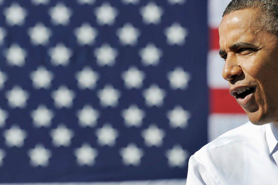 Le président sortant Barack Obama a dévoilé hier... (Photo: Jewel Samad, AFP)
