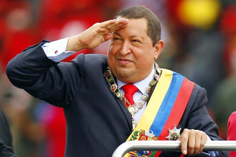 Le président vénézuélien Hugo Chavez est à la... (Photo: Jorge Silva, Reuters)