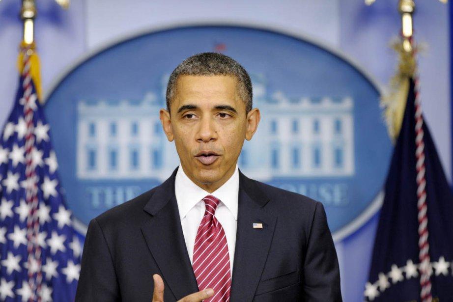 Le président des États-Unis Barack Obama a annoncé... (Photo: Susan Walsh, AP)