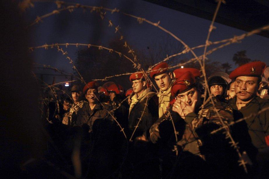 «Jamais nous ne cèderons à des menaces, nous... (Photo: Reuters)