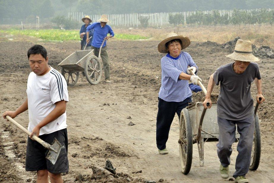 À Hangzhou, les employés de l'usine Zhejiang Zhongda... (Photo: Zhao Bing Jie, collaboration spéciale)