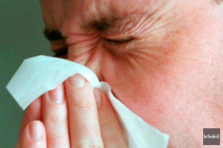 Alors que la période de la pointe d'infections... (Photothèque Le Soleil)