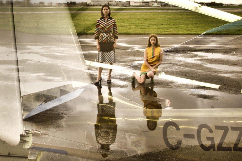 Ève Garnier et Victoria May, les deux interprètes... (Photo fournie par la production)