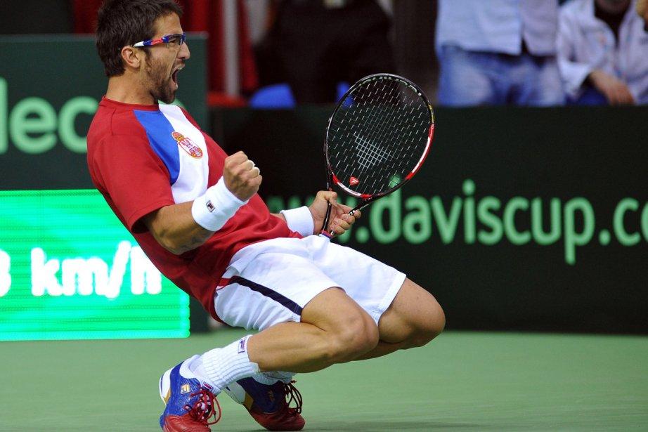 Janko Tipsarevic... (Photo AFP)