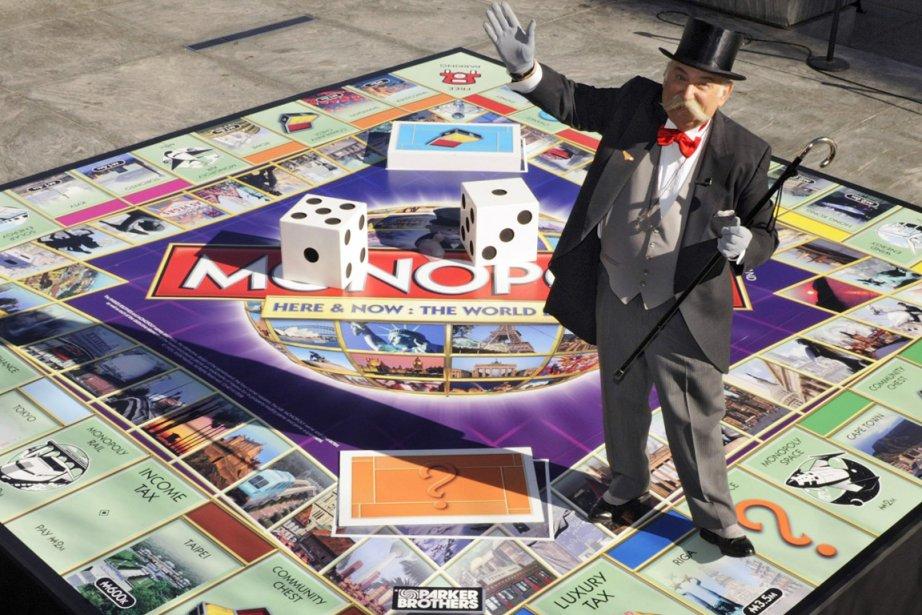 Hasbro lancera une nouvelle version électronique du Monopoly... (Photo Reuters)