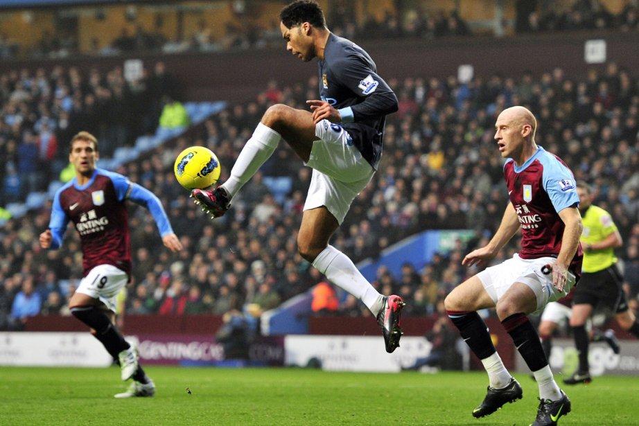 Le défenseur Joleon Lescott de Manchester City.... (Photo AFP)