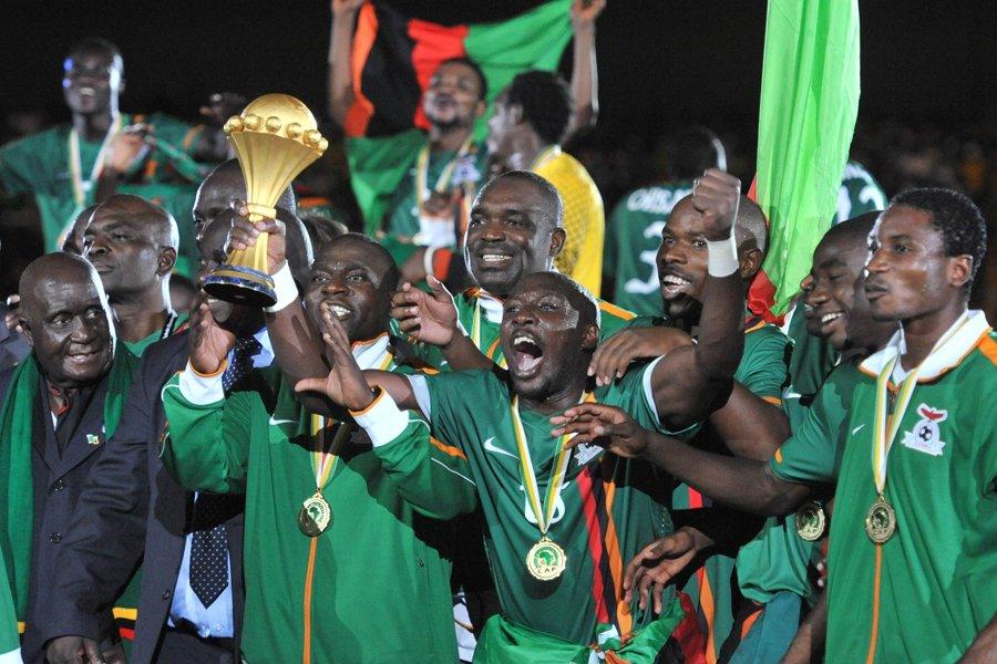 La Zambie est devenue championne d'Afrique en battant la Côte... (Photo: AFP)