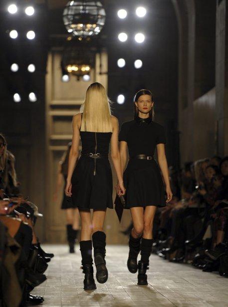 Défilé de Victoria Beckham, lors de la Semaine de mode de New York. | 13 février 2012