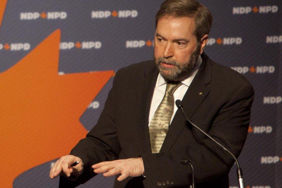 Thomas Mulcair... (Photo La Presse Canadienne)