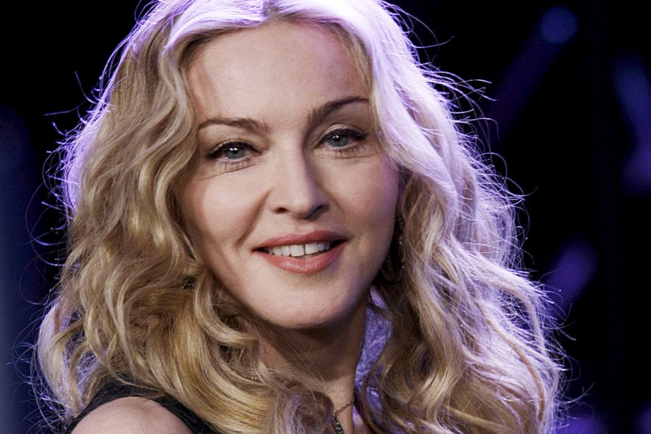 Madonna... (Photo AP)
