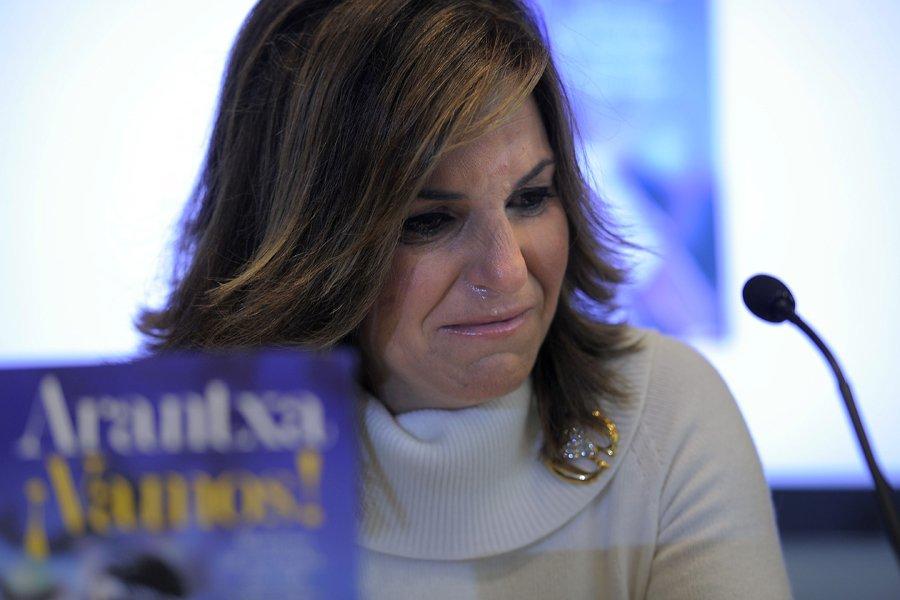 Arantxa Sanchez a fondu en larmes durant une... (Photo: AFP)