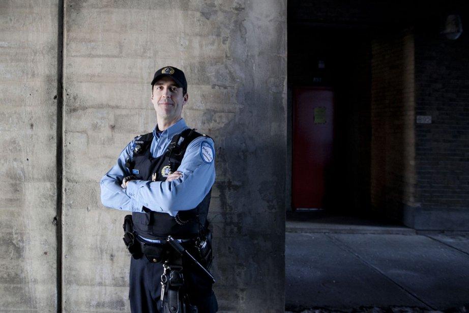 Pascal Richard est sergent au SPVM.... (Photo Marco Campanozzi, La Presse)