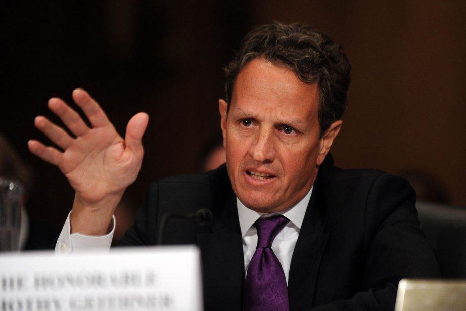 Timothy Geithner, le secrétaire au Trésor des États-Unis.... (Photo AFP)