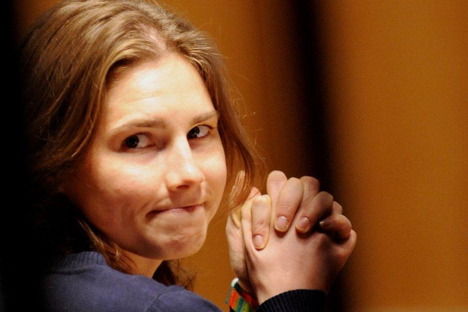 Amanda Knox et Raffaele Sollecito, condamnés en première... (Photo: Tiziana Fabi, Archives AFP)