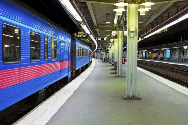 Un train de nuit en partance de la... (Photos.com)