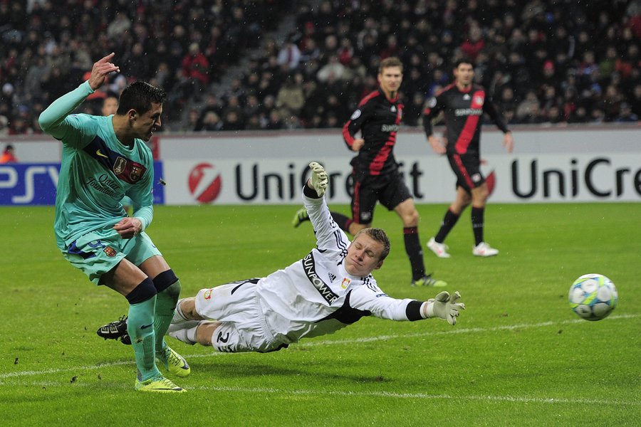 Alexis Sanchez s'est blessé en fin de match.... (Photo: AFP)