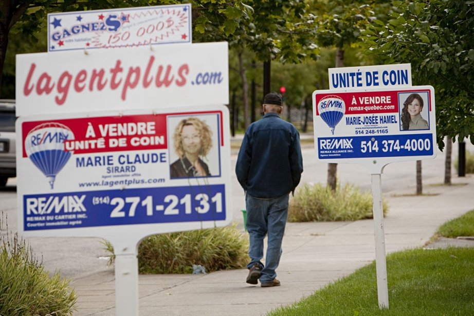 Les hausses de prix dans un secteur immobilier... (Photo David Boily, La Presse)