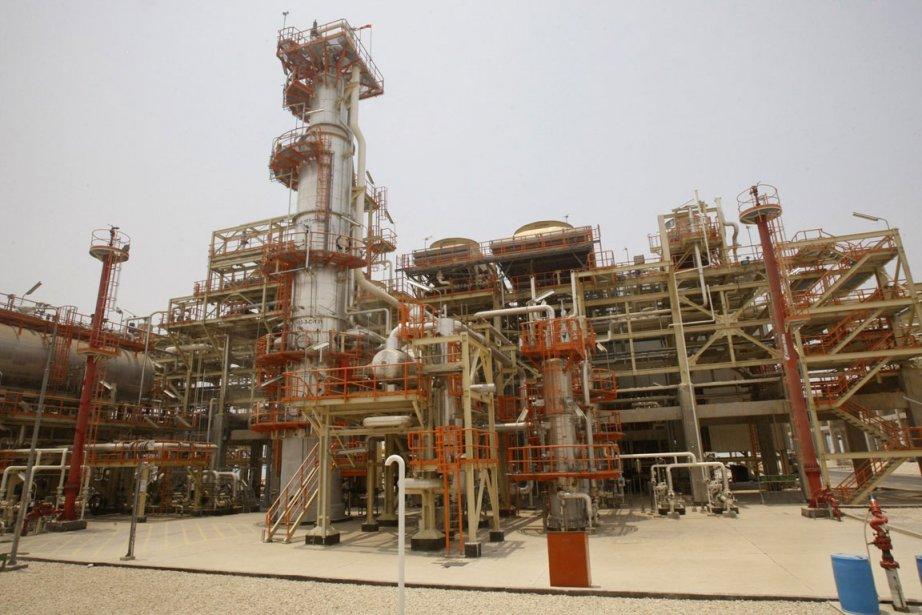 Installation pétrolière à Assalouyeh en Iran.... (Photo AP)