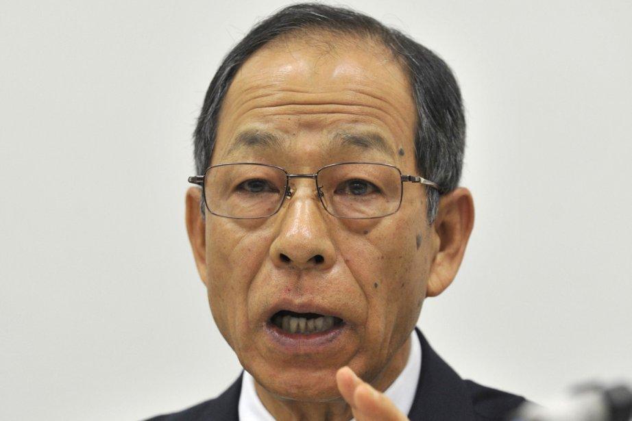 L'ex-PDG d'Olympus, Tsuyoshi Kikukawa.... (Photo : Yoshikazu Tsuno, AFP)