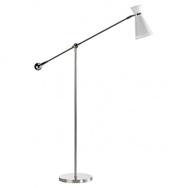 Lampe de sol à un bras Havana. Jonathan Adler, 595 $ chez Ludovik. | 16 février 2012
