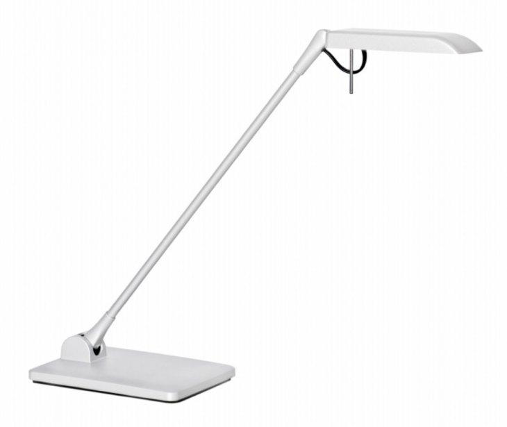 Lampe de lecture à DEL Terea. Luxo, 280 $ chez Homier Luminaire. Pour l'anecdote, la lampe logo de Pixar est de marque Luxo. | 16 février 2012