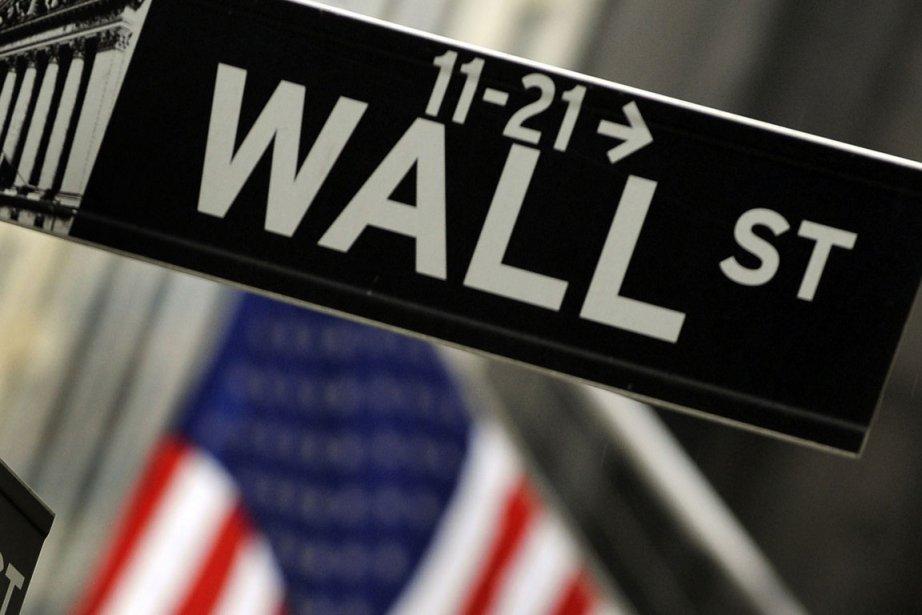 La Bourse de New York évoluait en hausse jeudi, les investisseurs... (Photo AFP)