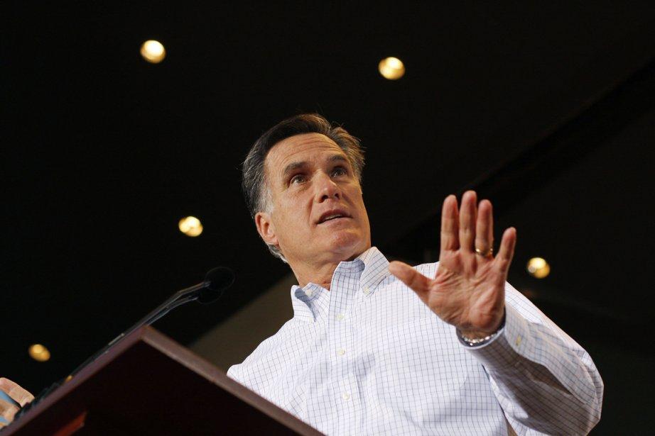 Mitt Romney (notre photo) a promis de réagir... (Photo: Joshua Lott, Reuters)