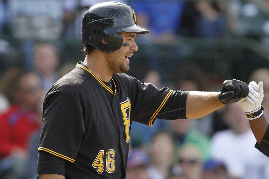 Garrett Jones... (Photo: AP)