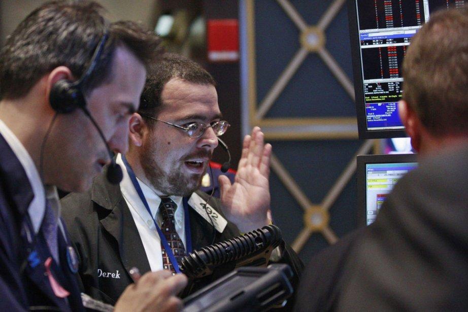Les Bourses de Toronto et New York ont clôturé en nette baisse... (Photo Reuters)