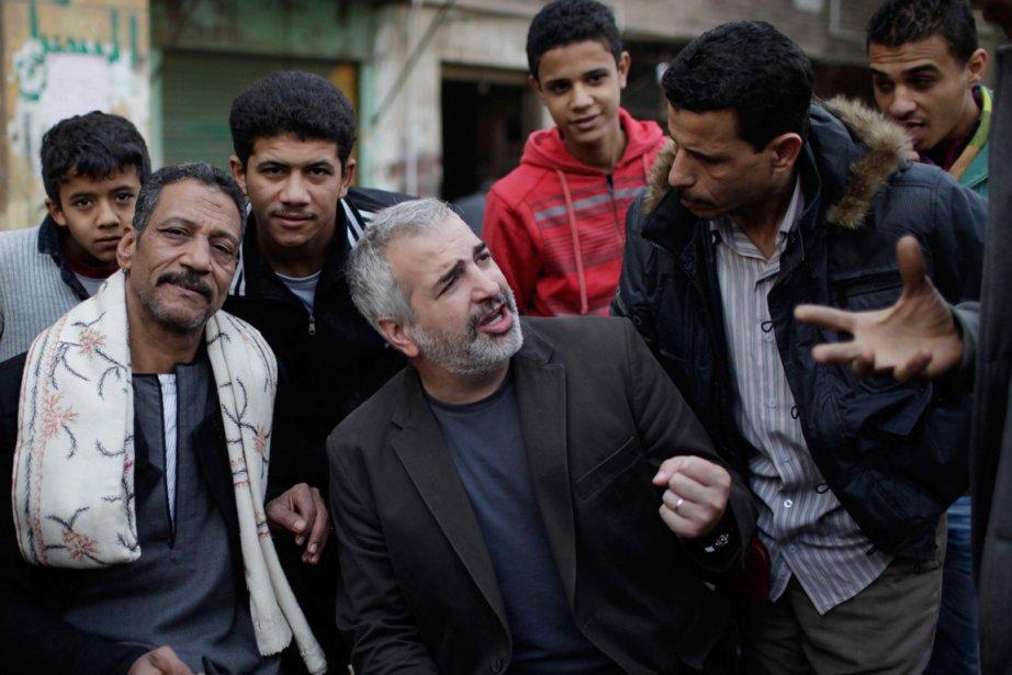 Anthony Shadid (au centre), Américain d'origine libanaise qui... (Photo: Archives AFP/NYT)