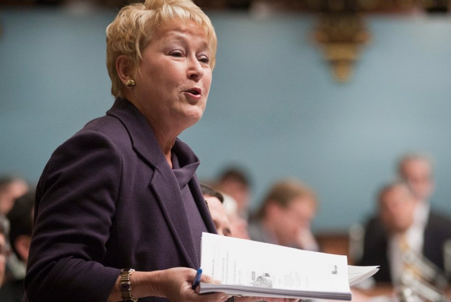 Pauline Marois... (La Presse Canadienne)