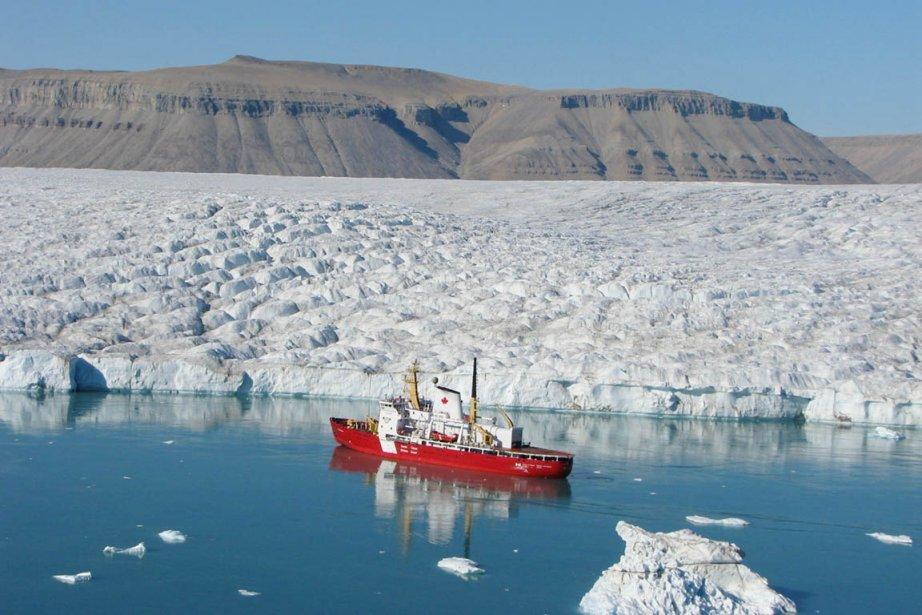 La fonte beaucoup plus rapide que prévu des... (Photo: Archives Pêches et Océans Canada)