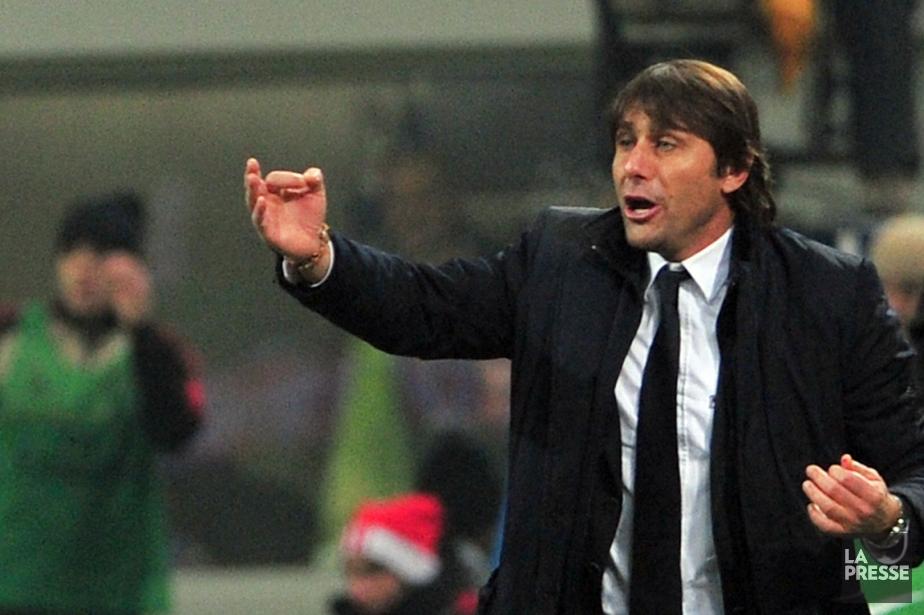 L'entraîneur-chef de la Juventus Turin, Antonio Conte.... (Photo : Giuseppe Cacace, AFP)