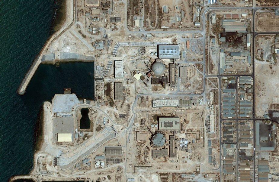 Image prise par un satellite d'une usine nucléaire... (Photo: AP)