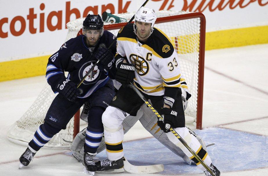 Le capitaine des Jets de Winnipeg, Andrew Ladd... (Photo: Trevor Hagan, PC)