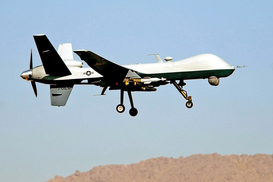 Un drone.... (Photo AFP)