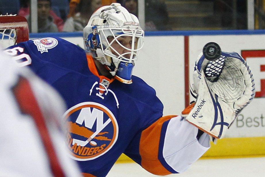 John Tavares a récolté deux buts et une aide et les Islanders de... (Photo AP)