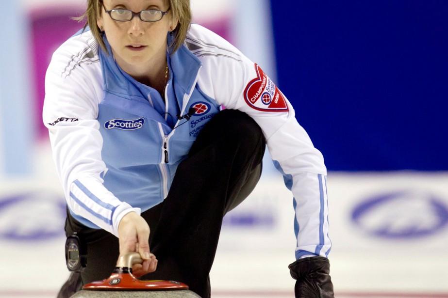 Marie-France Larouche... (Photo d'archives, La Presse Canadienne)