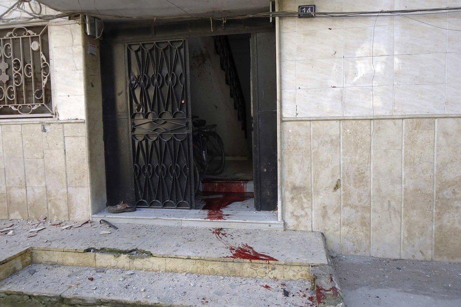 Du sang est aperçu dans cette maison de... (Photo: Reuters)