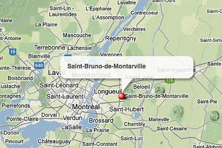 Un accident de véhicule tout-terrain a fait une victime, à... (maps.google.ca)